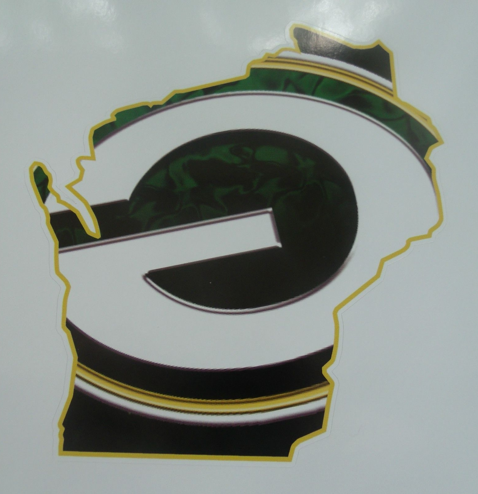 Widely Used Green Bay Packers Wall Art Pertaining To Wall Art Sports Decal Green Bay Packers State Of Wisconsin Wall (View 11 of 15)