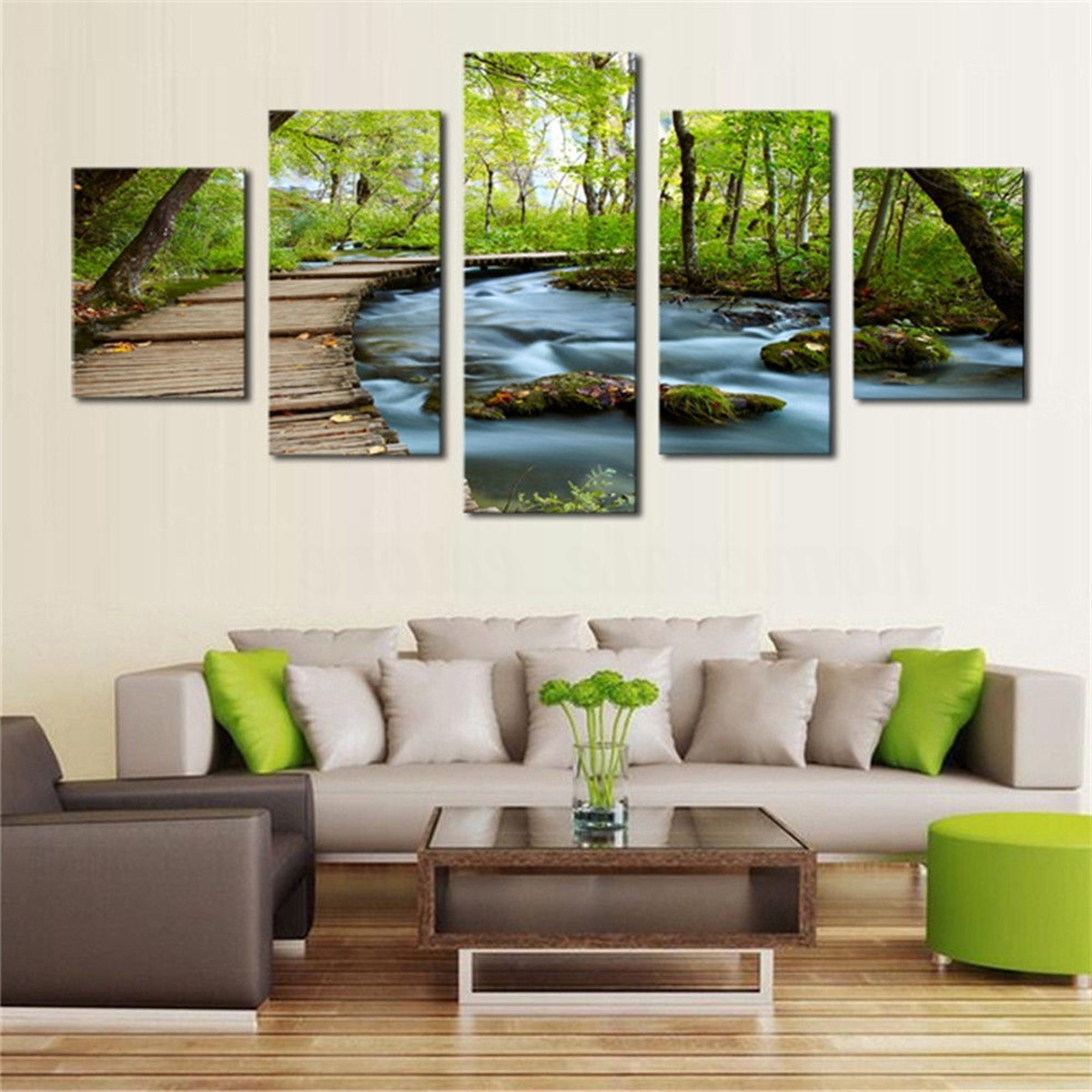 Widely Used Hd Canvas Print Modern Scenery Animal Wall Art Oil Painting Home With Regard To Animal Wall Art (View 15 of 15)
