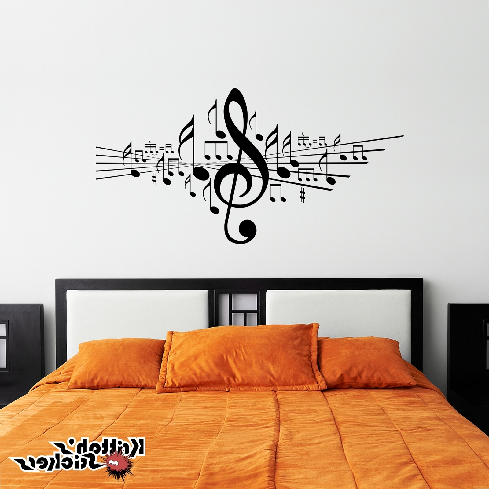 Widely Used Music Note Wall Art Pertaining To Music Notes Marvelous Music Wall Decor – Wall Art And Wall (View 3 of 15)