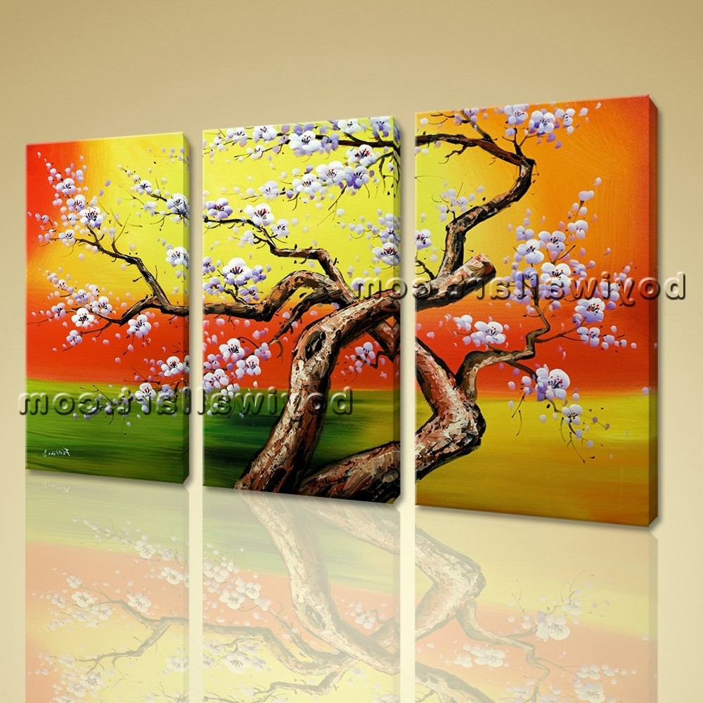 Widely Used Oversized Canvas Wall Art In 35 Tree Canvas Wall Art My Wall Of Life (View 10 of 15)