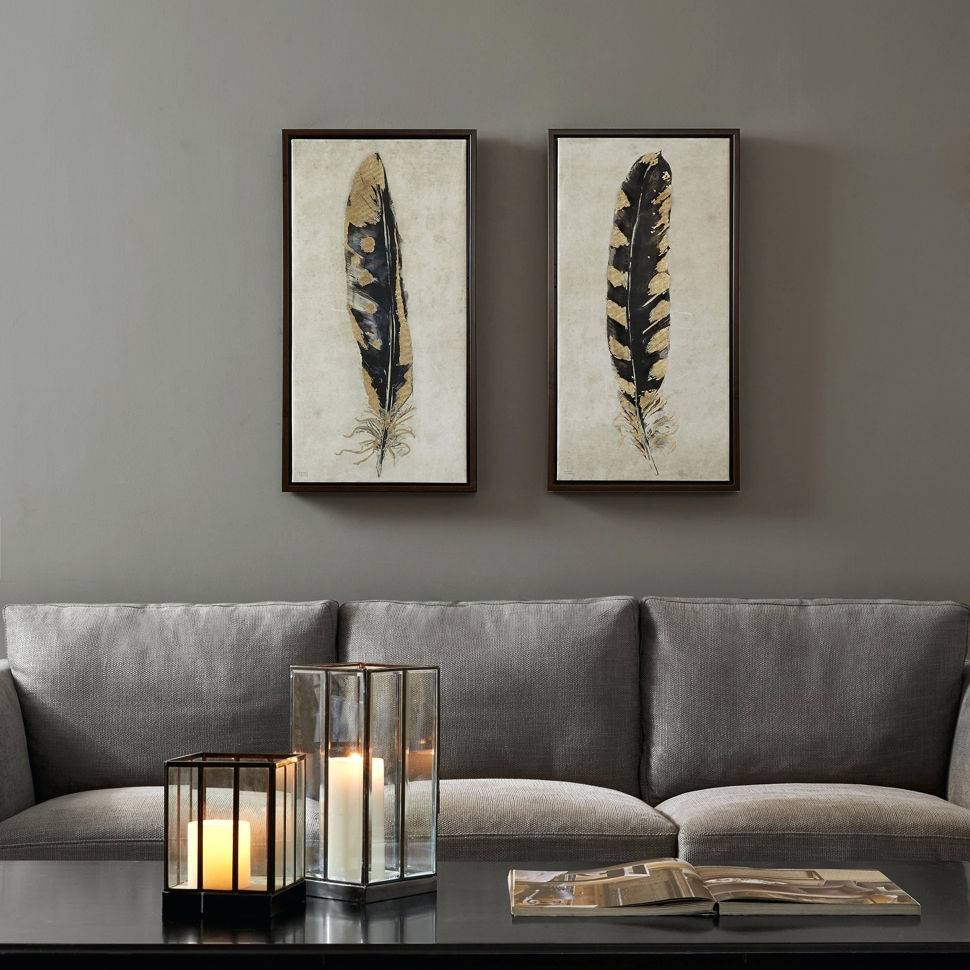 Widely Used Overstock Abstract Wall Art Pertaining To Wall Arts ~ Set Of 2 Canvas Art Abstract Canvas Wall Art Add Set (View 15 of 15)