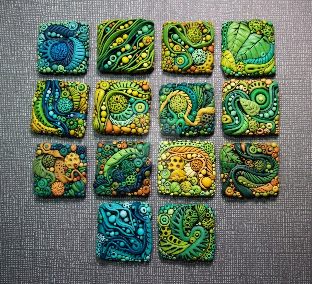 Widely Used Polymer Clay Wall Art For Textured Polymer Clay Inchiesmandarinmoon On Deviantart (View 15 of 15)