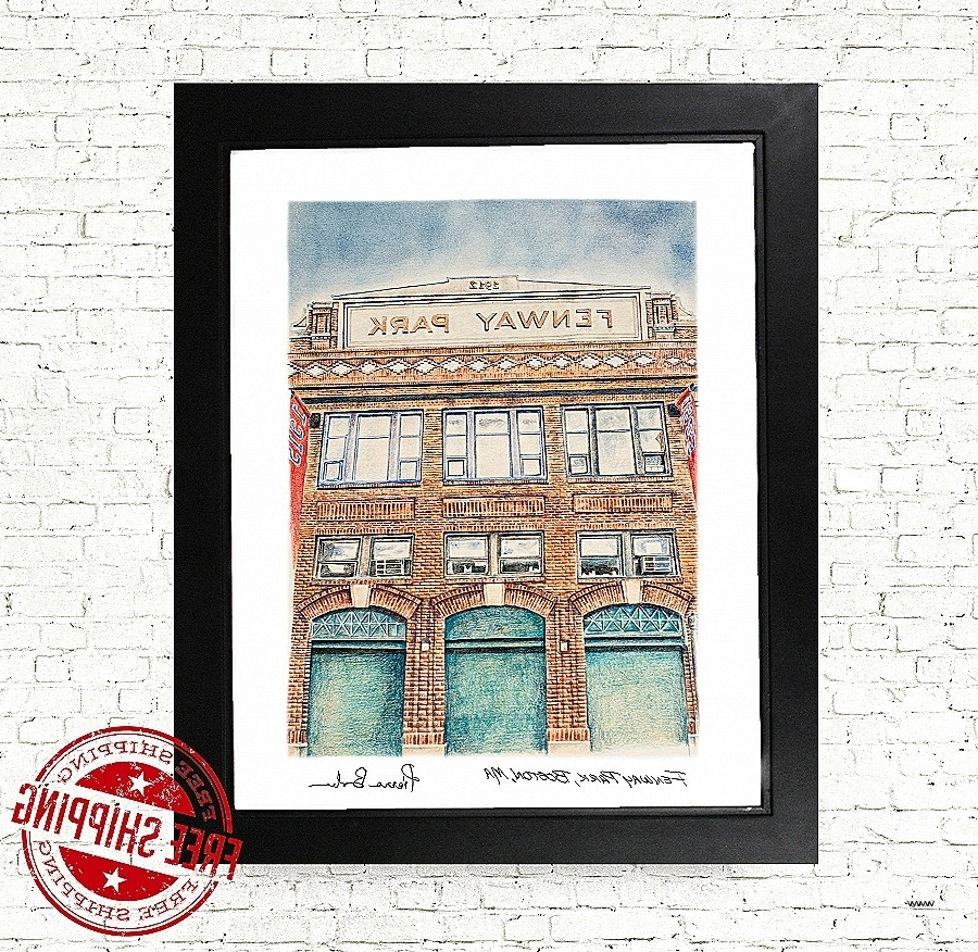 Widely Used Red Sox Wall Art Regarding Wall Art Beautiful Boston Red Sox Wall Art High Definition (View 15 of 15)