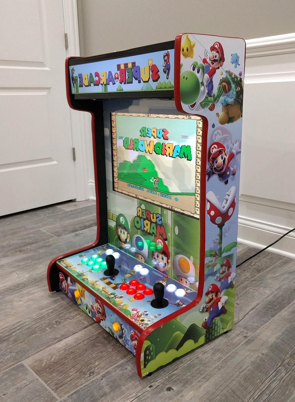 Widely Used These Wall Mounted Arcade Cabinets Save Quarters And Space – Technabob Pertaining To Arcade Wall Art (View 15 of 15)