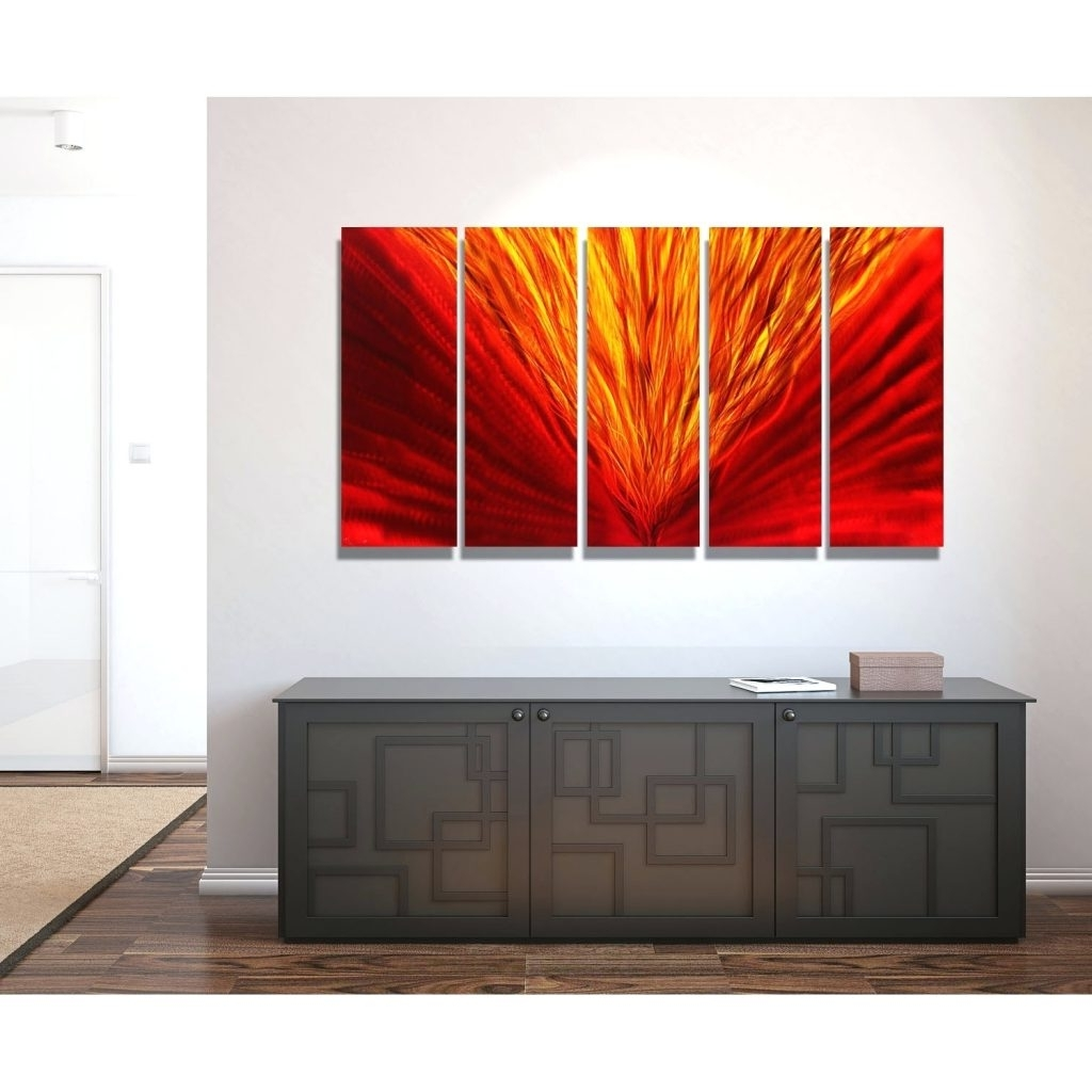 Widely Used Three Panel Wall Art For Wall Arts ~ 3 Panel Metal Wall Art Wood Panel Wall Art Decor Multi (View 8 of 15)