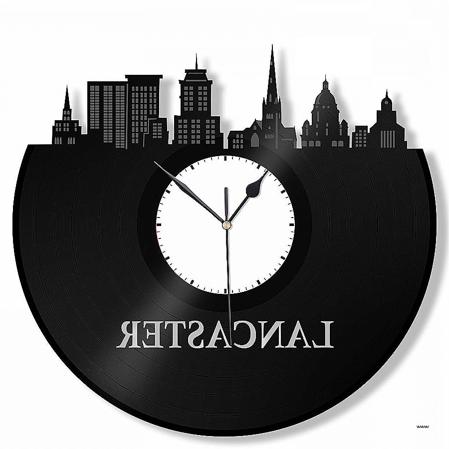 Widely Used Vinyl Records Wall Art New Lancaster Pa Clock Penn State Decor Pertaining To Penn State Wall Art (View 15 of 15)