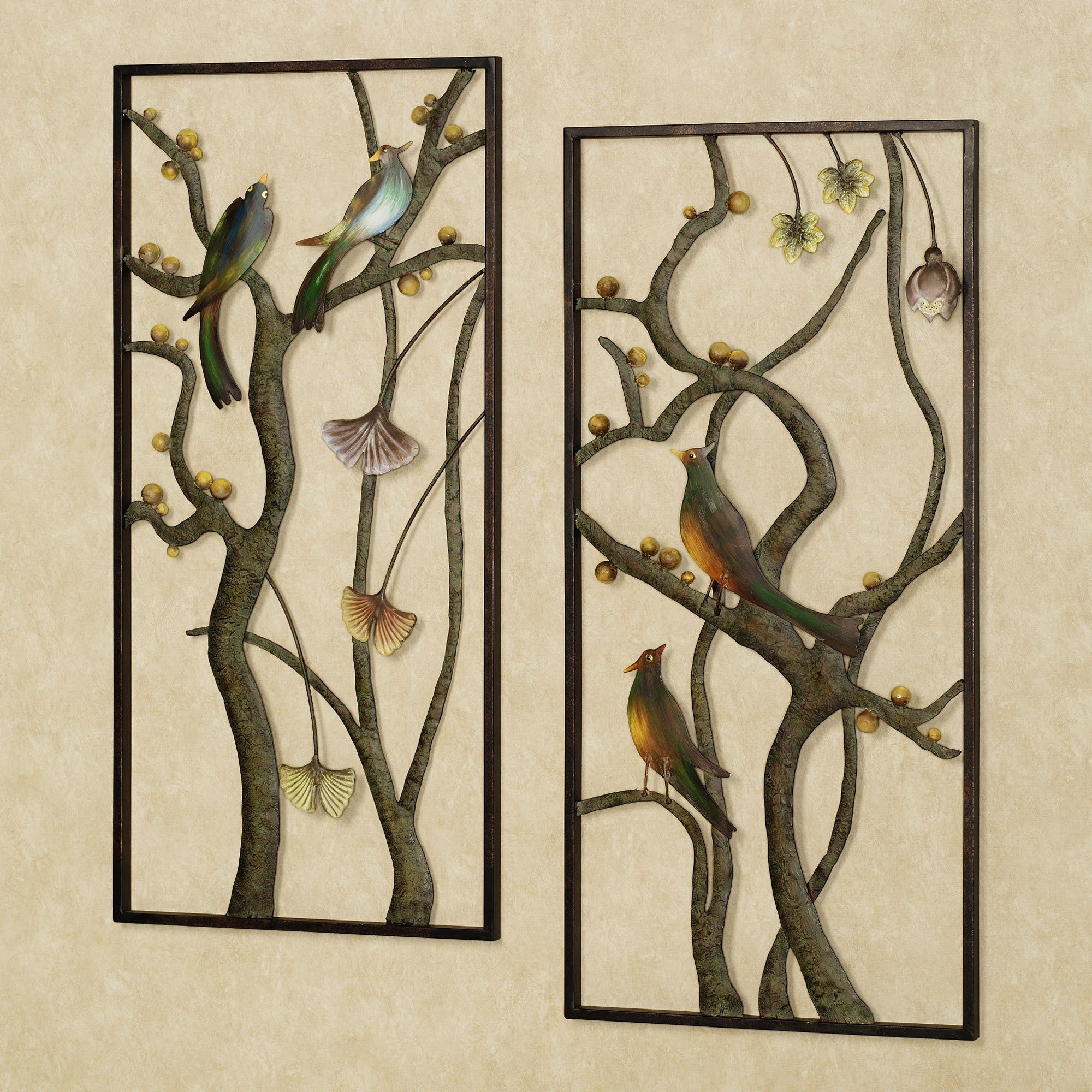 Widely Used Wall Art Designs: Metal Wall Art Panels Metal Wall Art For Regarding Bamboo Metal Wall Art (View 15 of 15)