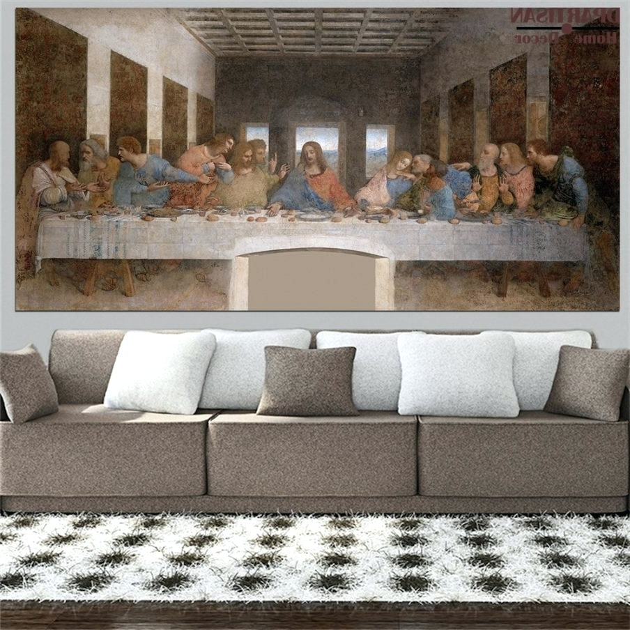 Widely Used Wall Arts ~ Winsome Last Supper Wall Decor Extra Sizes Oil Print Inside Last Supper Wall Art (View 15 of 15)