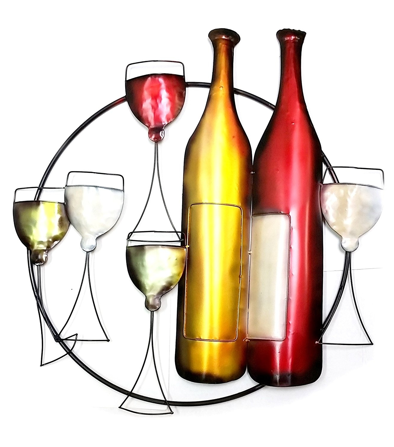 Widely Used Wine Metal Wall Art For Wine (View 9 of 15)