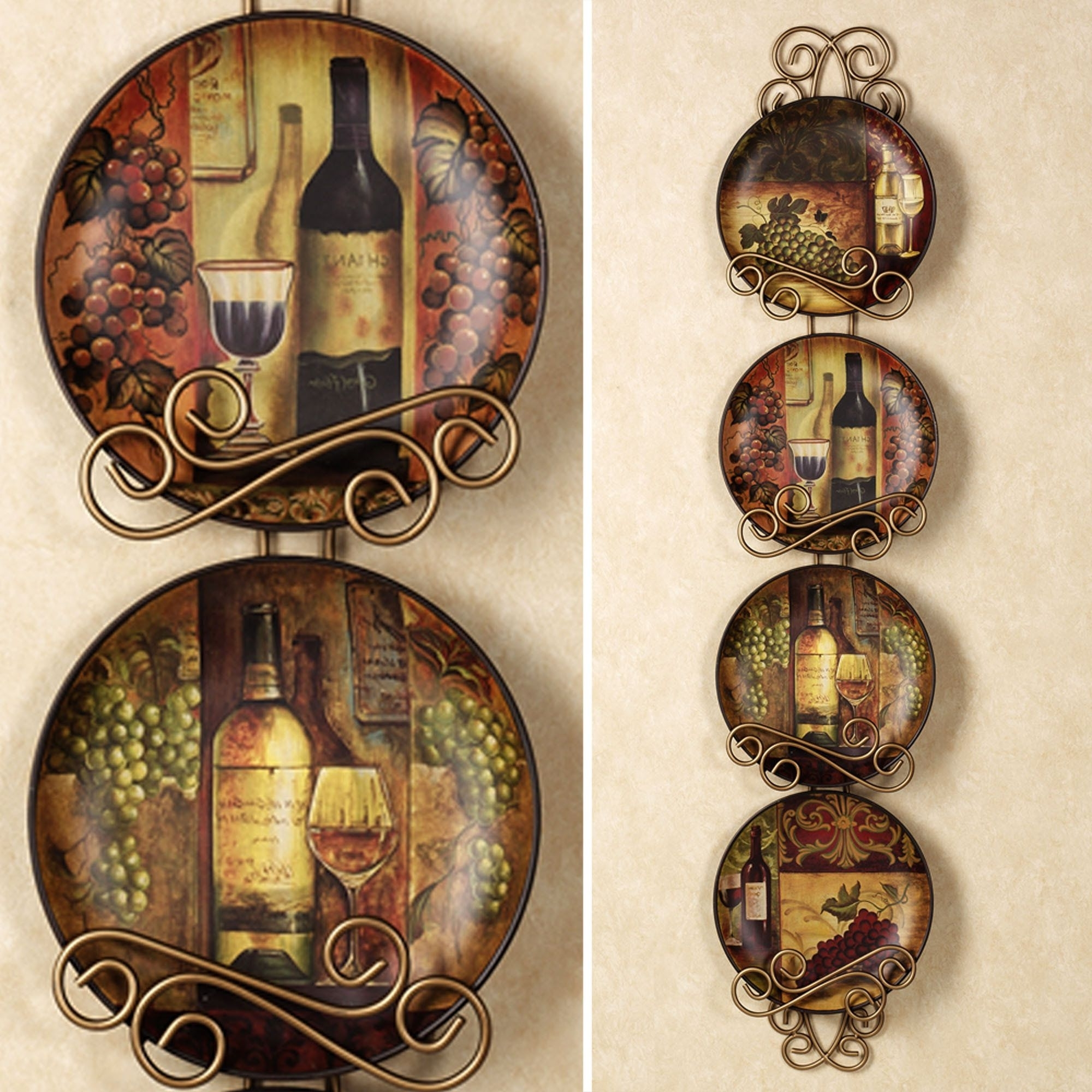 Wine And Grapes Kitchen Decor (View 14 of 15)