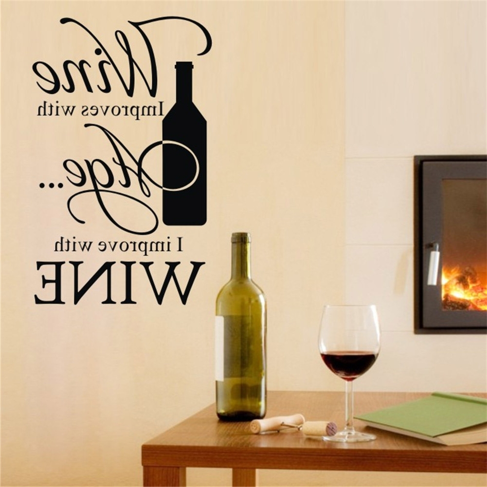 Wine Inspired Wall Decor • Walls Decor With Latest Wine Themed Wall Art (View 5 of 15)