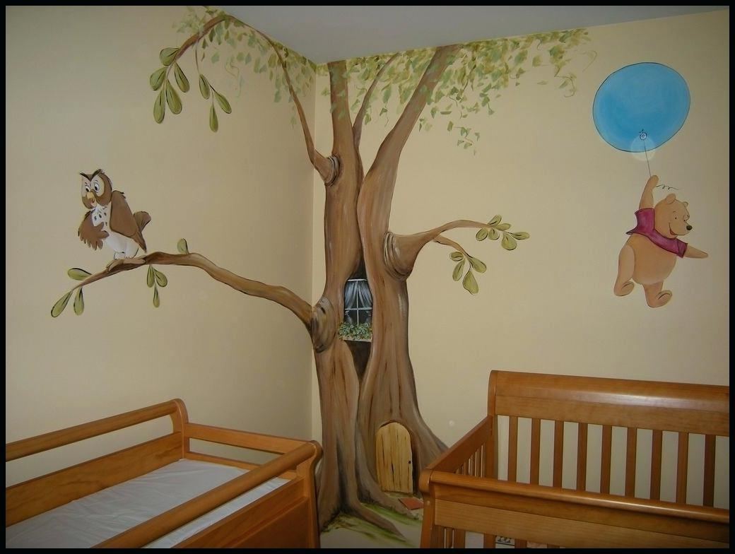 Winnie The Pooh Vinyl Wall Art With Regard To Latest Winnie The Pooh Nursery Wall Decals Baby Nursery Wall Decals And (View 13 of 15)