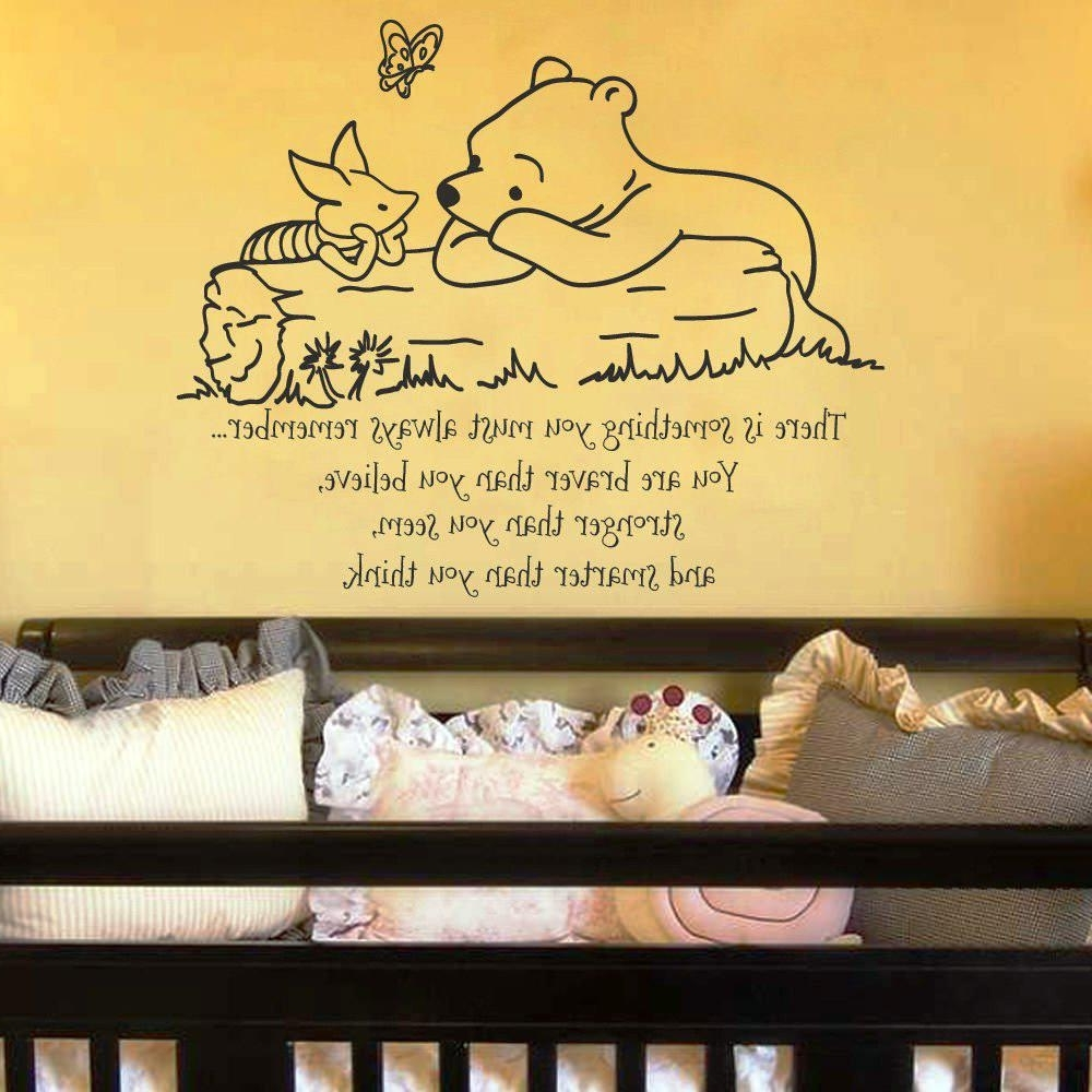 Displaying Photos of Winnie The Pooh Wall Art For Nursery (View 13 ...