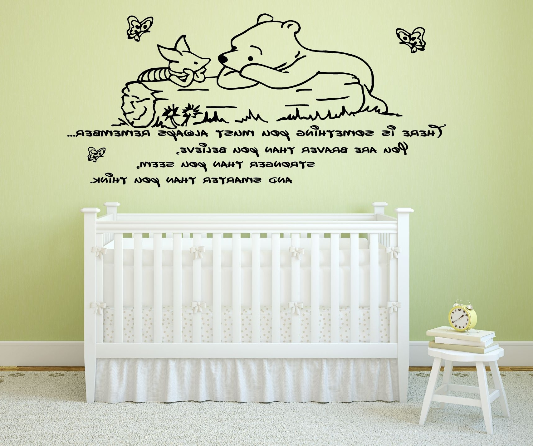 Winnie The Pooh Wall Decor For Nursery • Walls Decor Intended For Popular Winnie The Pooh Wall Decor (View 8 of 15)