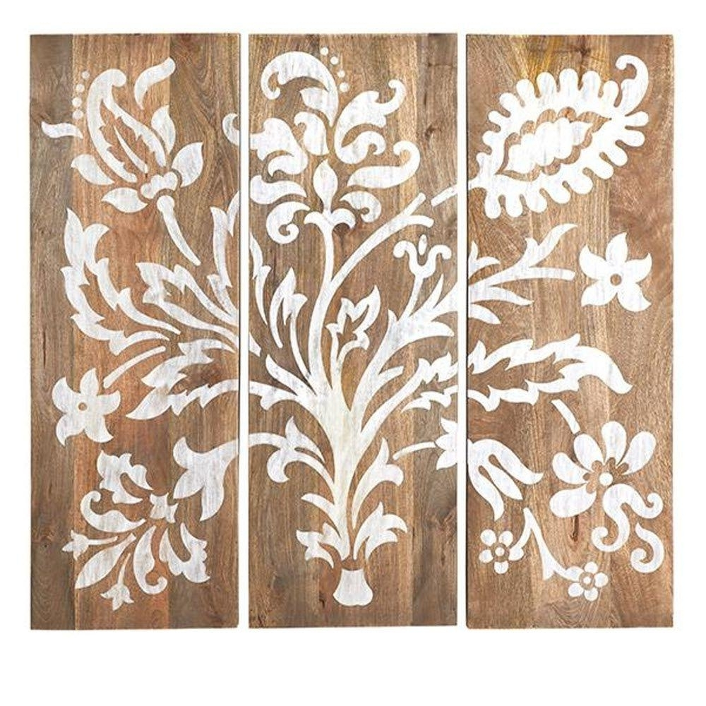 Wood Wall Art Panels Pertaining To Well Liked Home Decorators Collection 40 In. H X 14 In (View 12 of 15)