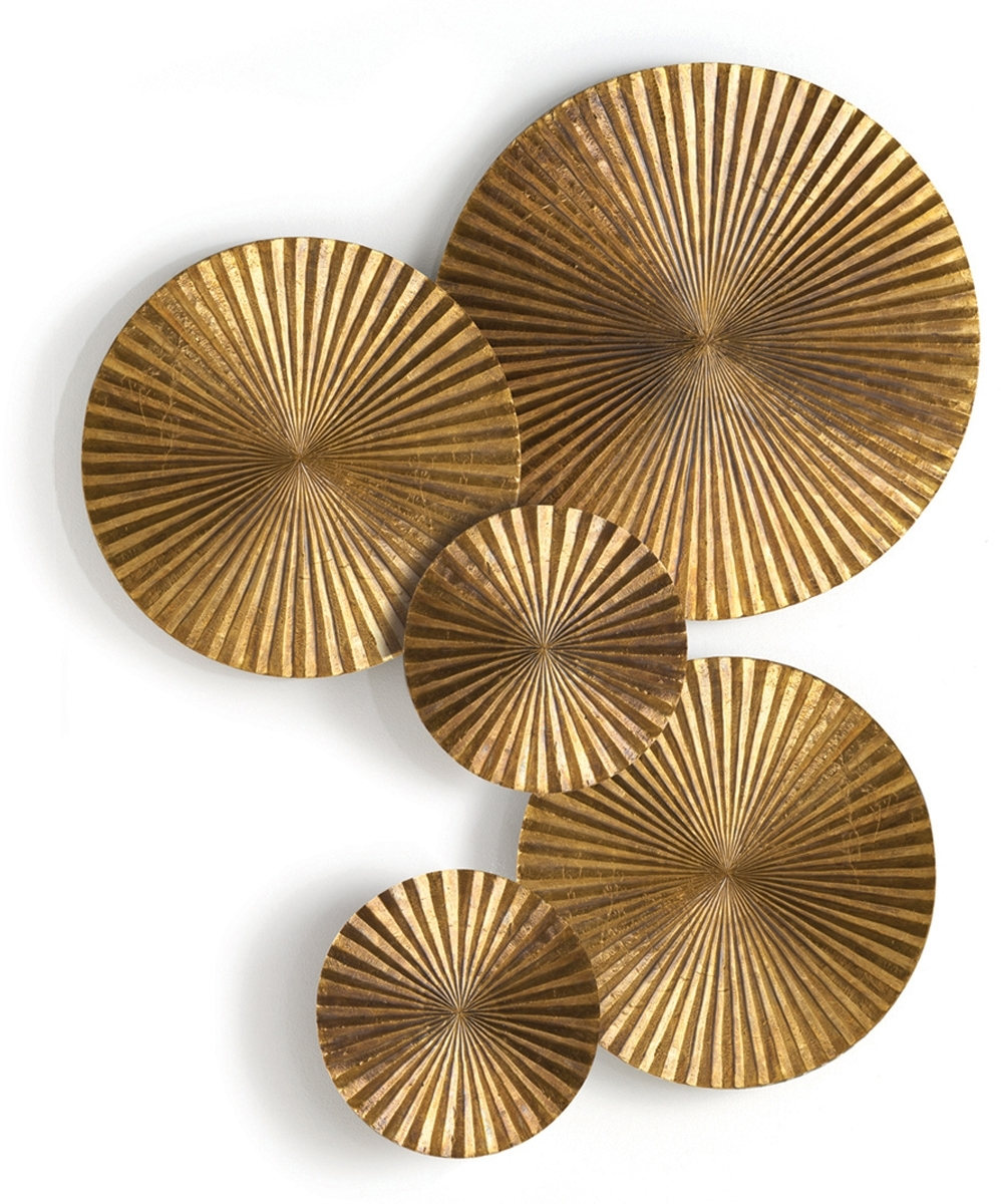 Wood Walls Throughout Decorative Metal Disc Wall Art (View 4 of 15)