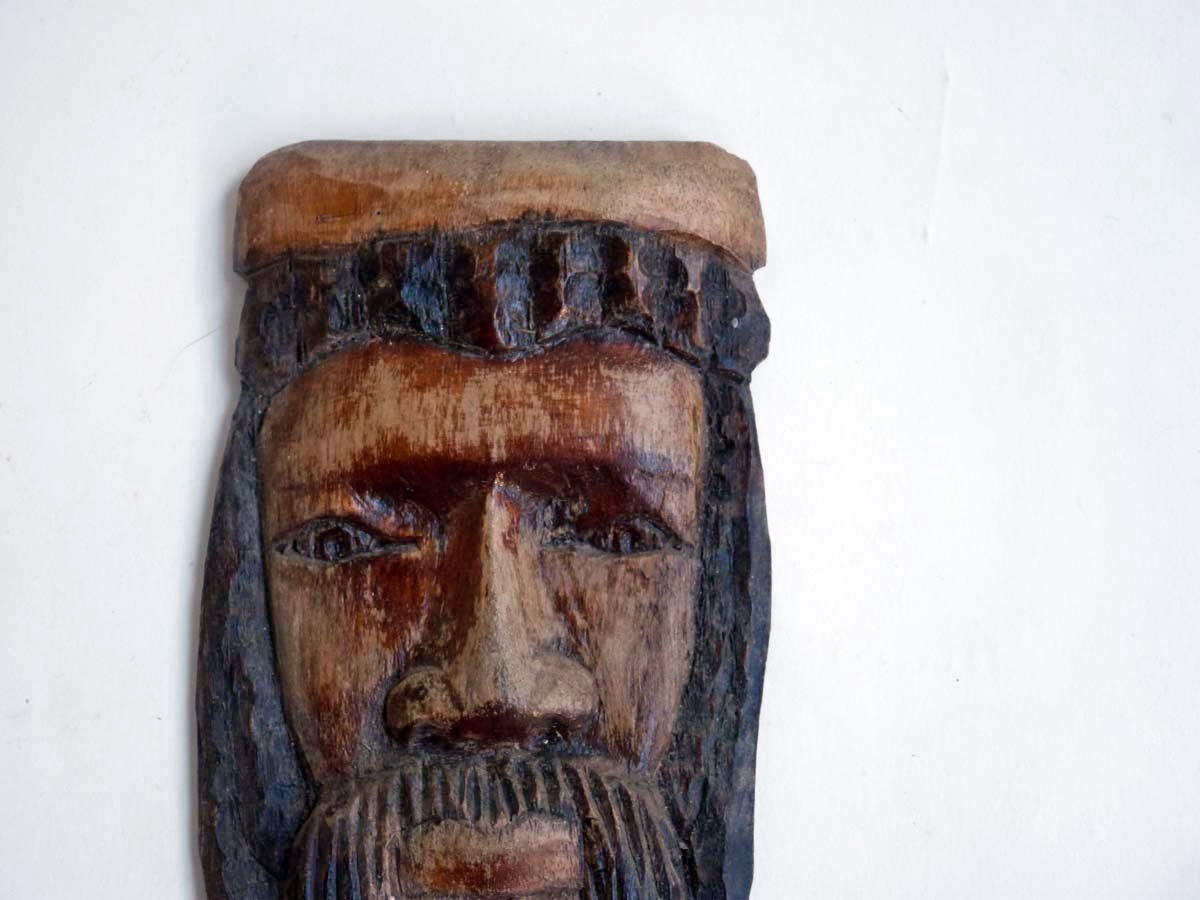 Wooden Tribal Mask Wall Art Throughout 2018 African Masks: African Jesus, Primitive Hand Carved And Painted (View 14 of 15)