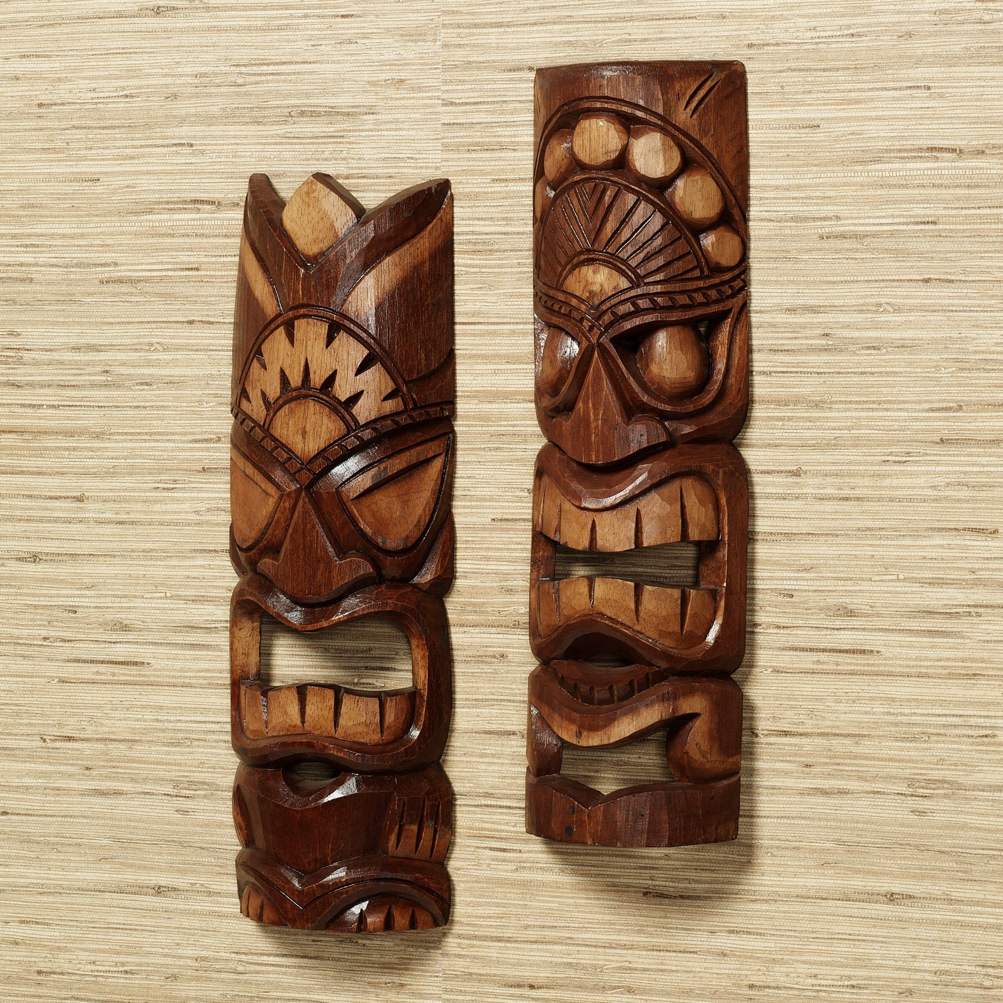 Wooden Tribal Mask Wall Art Throughout Most Current Wooden Tribal Mask Wall Art (View 15 of 15)
