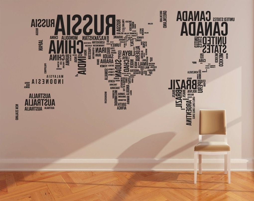 World Wall Art In Current Cool World Wall Art Decal – Imgur (View 10 of 15)