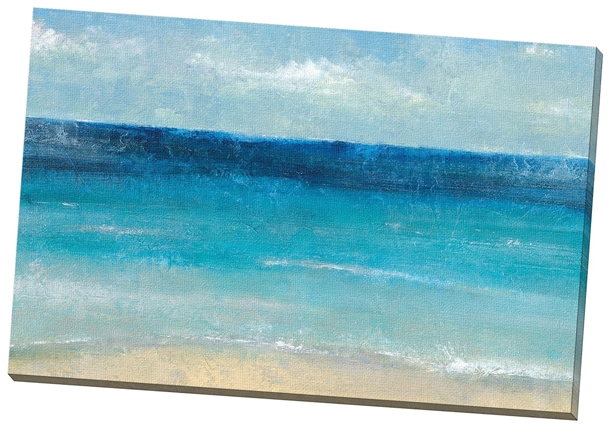 """X 36"""" X 1.5"""" Portfolio Canvas Beach Wall Art 'cote D'azure' By Intended For Newest Beach Wall Art (Gallery 3 of 15)"""