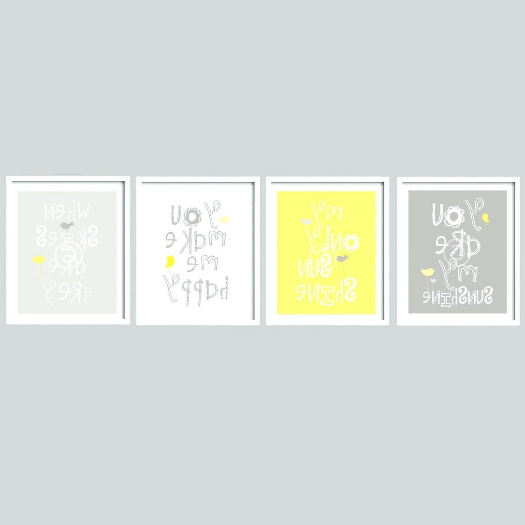 Yellow And Gray Wall Art Intended For Current Wall Arts ~ Extra Large Yellow And Grey Rose Canvas Wall Art 5 (Gallery 12 of 15)