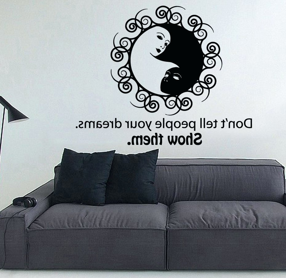 Yin Yang Wall Art Pertaining To Recent Wall Arts ~ Geisha Yin Yang Wall Art Yin Yang Outdoor Wall Art Yin (View 6 of 15)