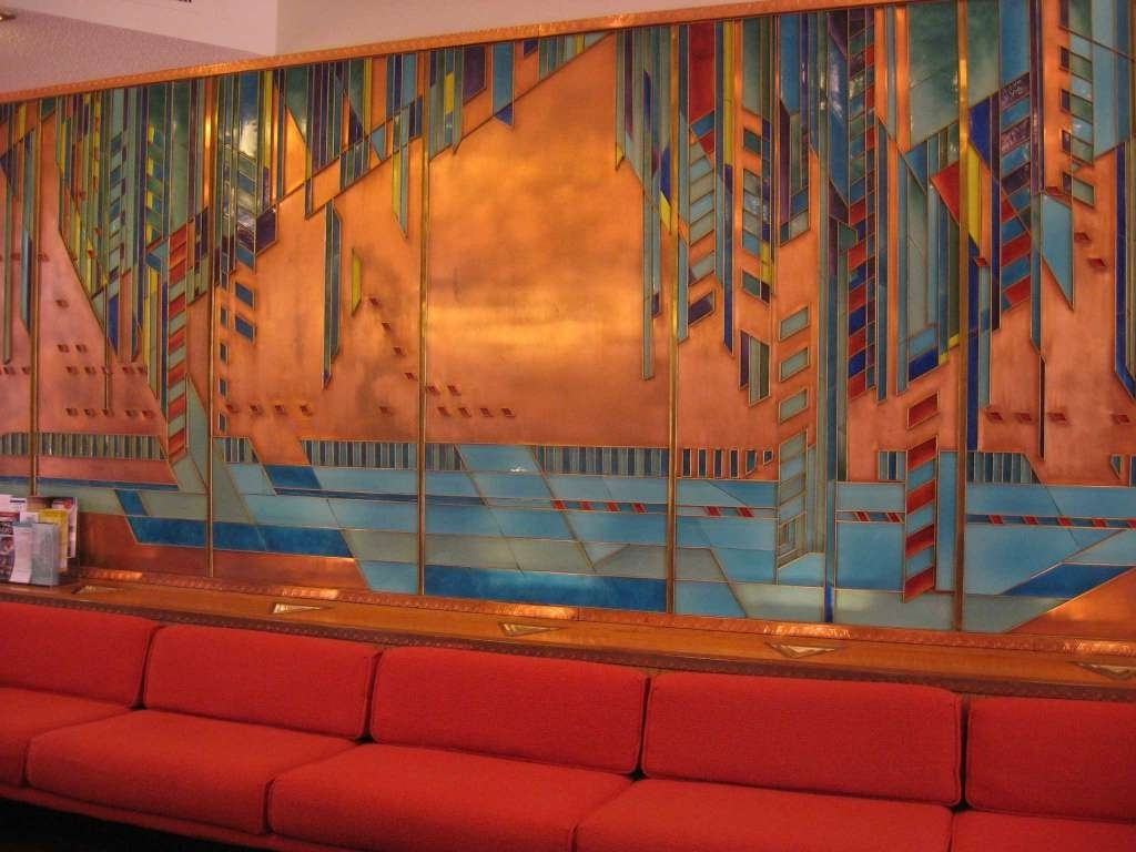 You Can Spend The Night In A Frank Lloyd Wright Masterpiece In With Well Liked Frank Lloyd Wright Wall Art (View 15 of 15)