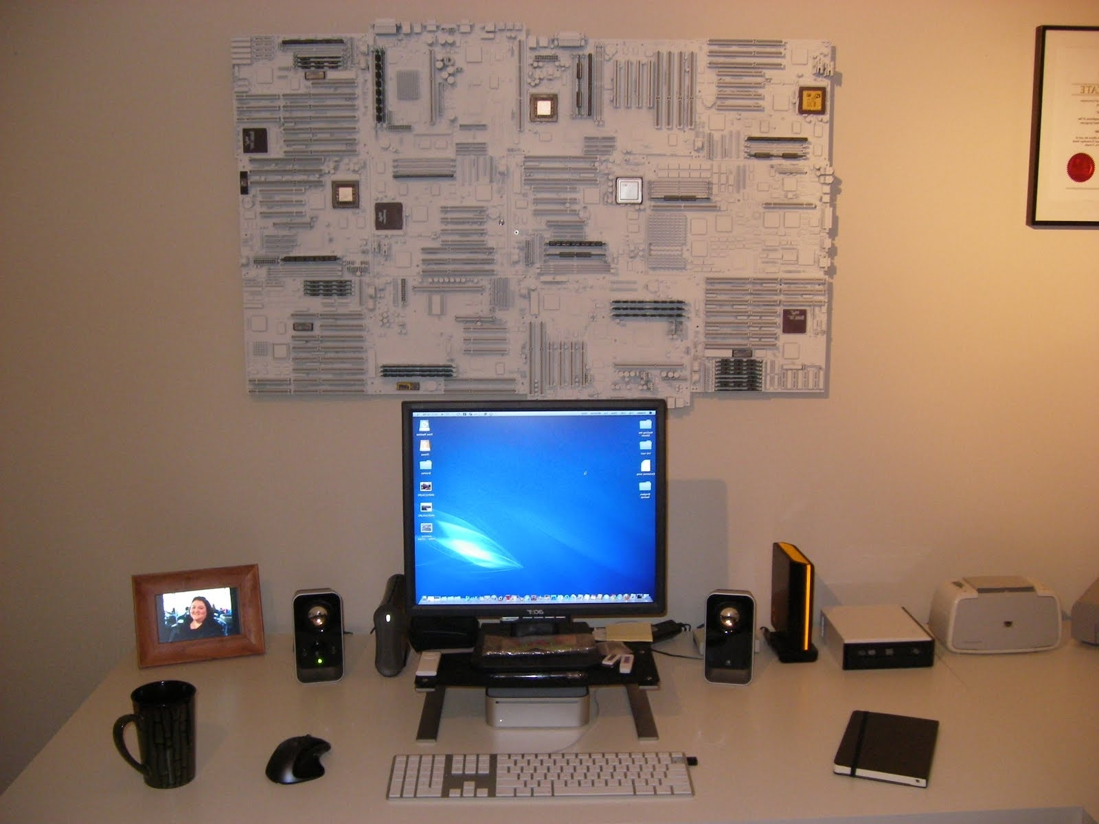 Your Computer Geek In Famous Computer Wall Art (Gallery 7 of 15)