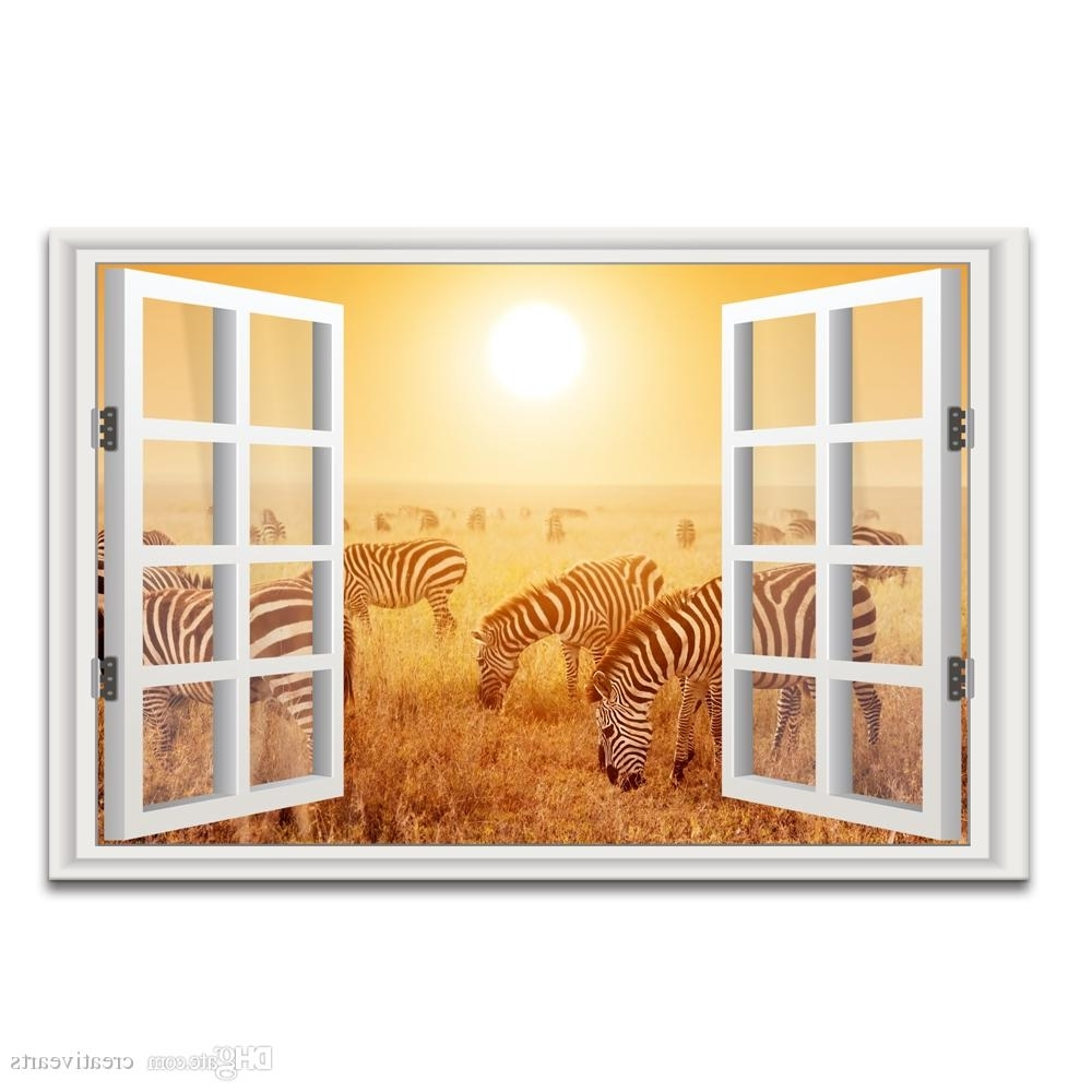 The Best Zebra 3D Wall Art