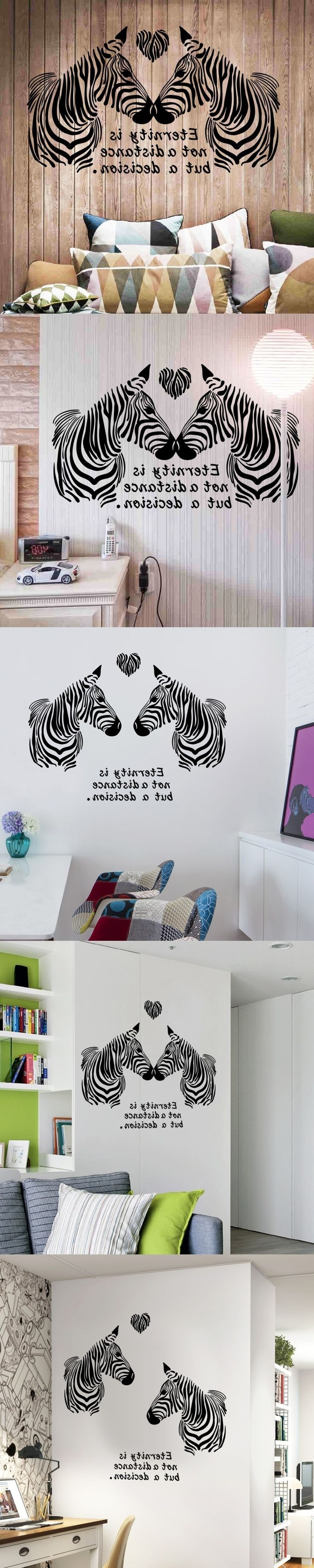 Zebra Art, Wall (View 15 of 15)