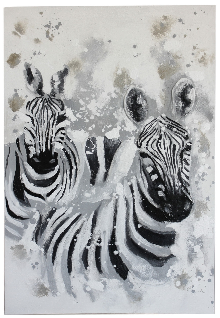 Zebra Wall Art Canvas Regarding Current Wall Art Ideas Design : Animal  Themed Zebra Wall Art