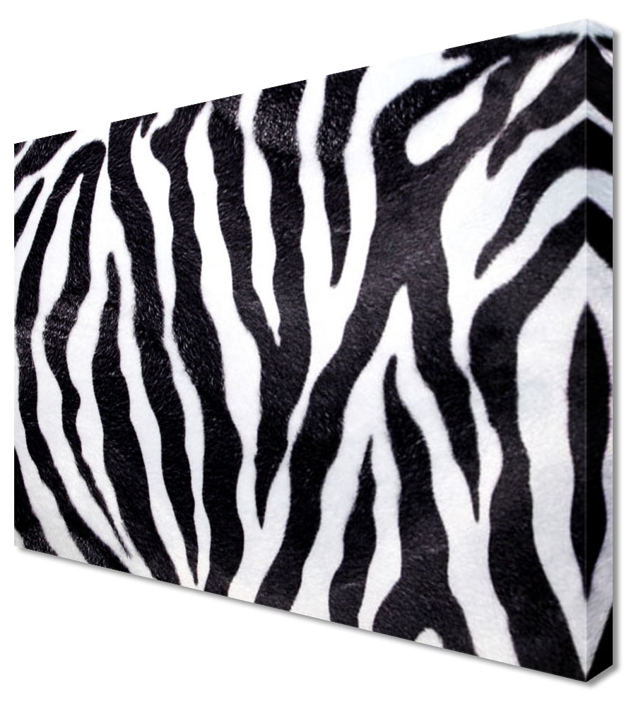 Zebra Wall Art Canvas Within Trendy Zebra Wall Art Popular Zebra Print Wall Art – Wall Art And Wall (View 15 of 15)