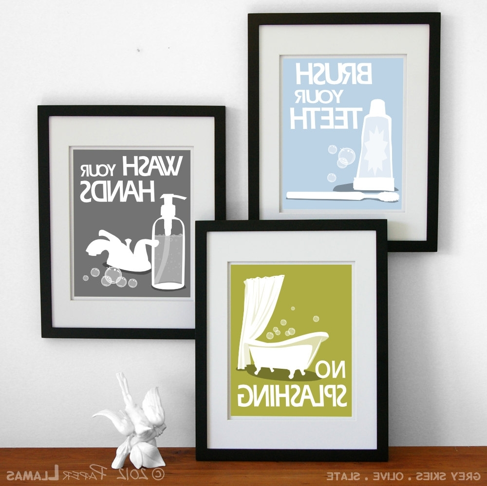 19 Bathroom Wall Art Prints, Wall Art For A Bathroom 2017 Throughout 2018 Framed Art Prints For Bathroom (View 1 of 15)