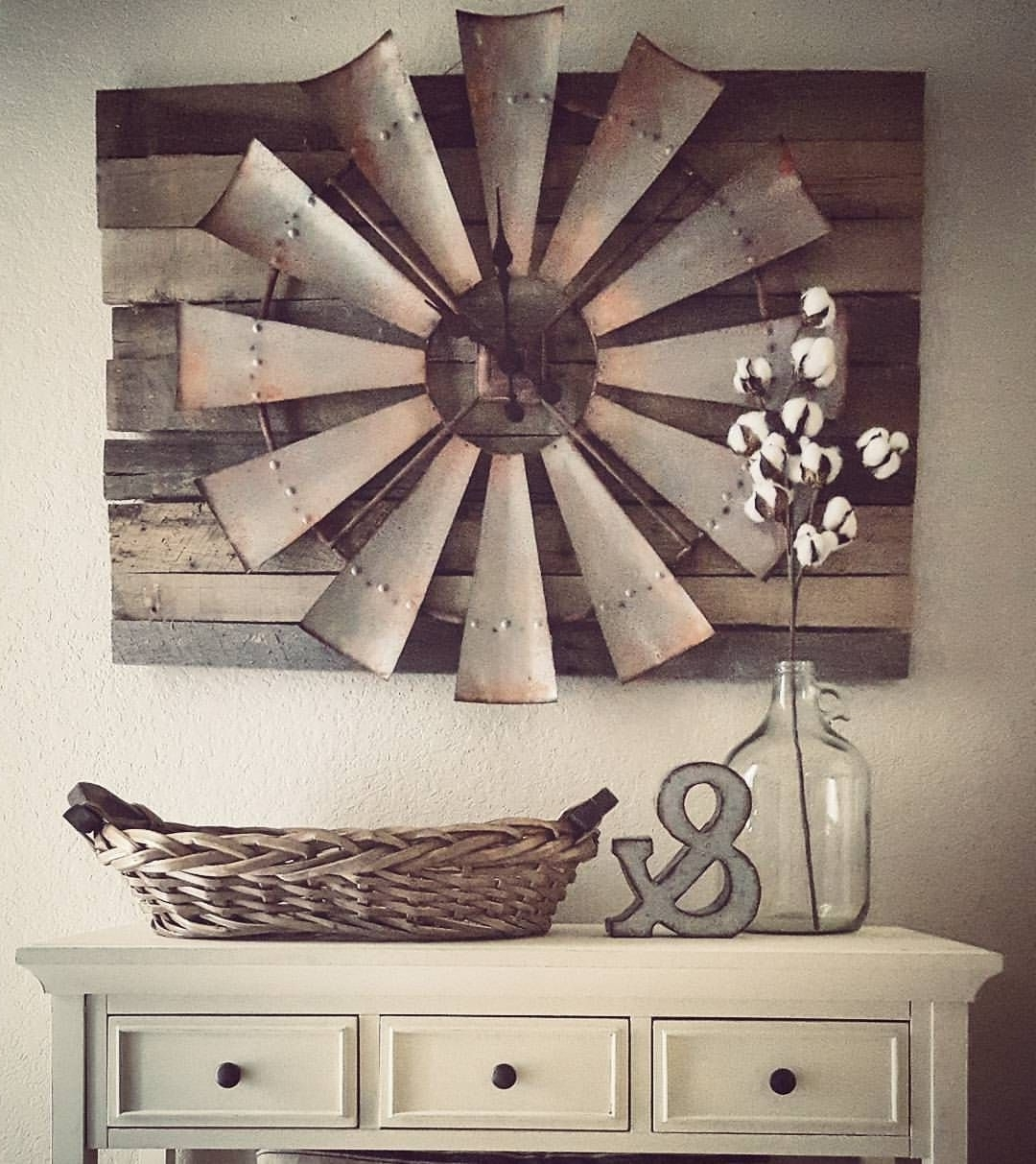 2017 Antique Wall Accents Pertaining To 27 Rustic Wall Decor Ideas To Turn Shabby Into Fabulous (View 10 of 15)