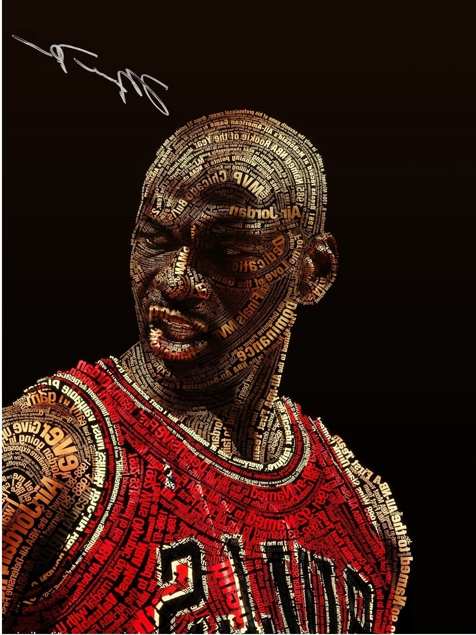 2017 Free Shipping Nba Michael Jordan Poster Home Decor Painting Throughout Recent Michael Jordan Canvas Wall Art (View 1 of 15)