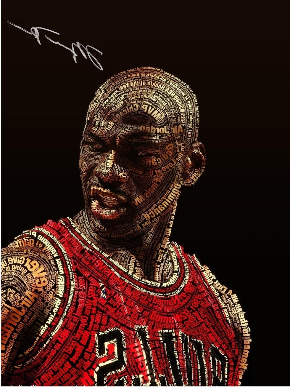 2017 Free Shipping Nba Michael Jordan Poster Home Decor Painting Throughout Recent Michael Jordan Canvas Wall Art (Gallery 9 of 15)