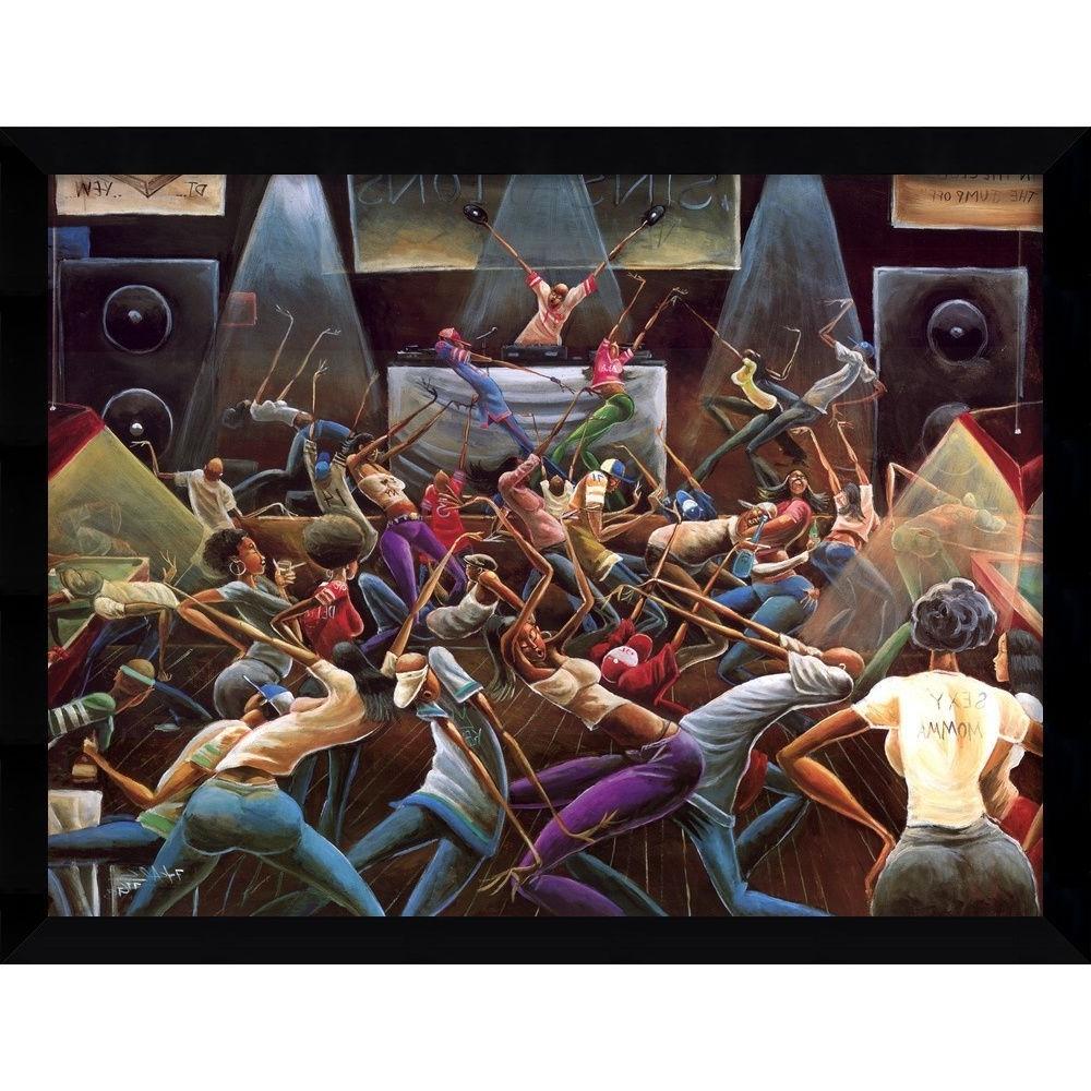 2017 Li>Artist: Frank Morrison</li> <Li>Title: Jump Off</li> <Li Regarding Framed African American Art Prints (View 1 of 15)