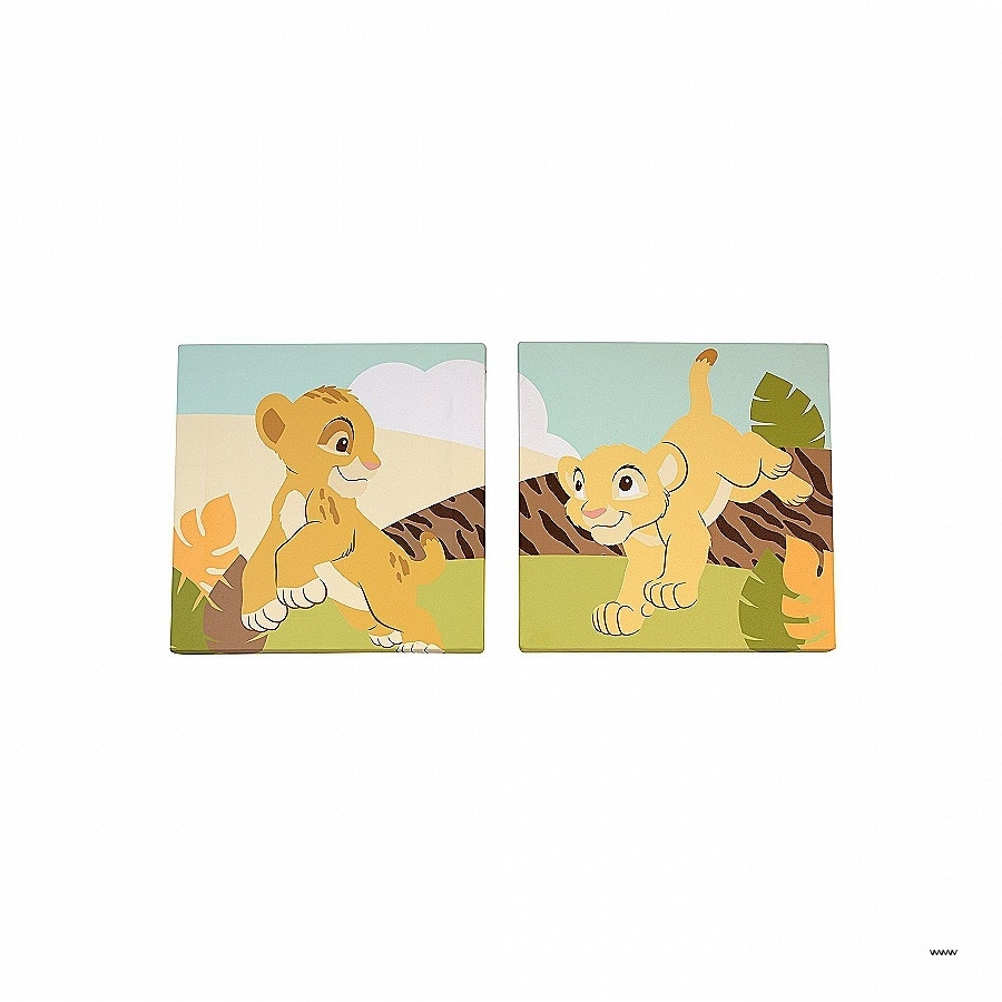 Top 15 of Lion King Canvas Wall Art