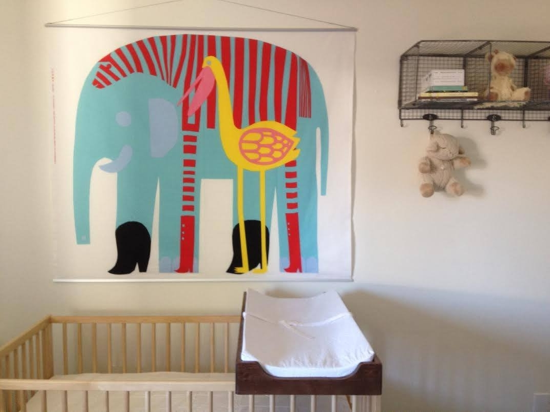 2017 Marimekko Fabric, Stretched On Poster Frame Find This Fabric Regarding Marimekko Stretched Fabric Wall Art (View 8 of 15)