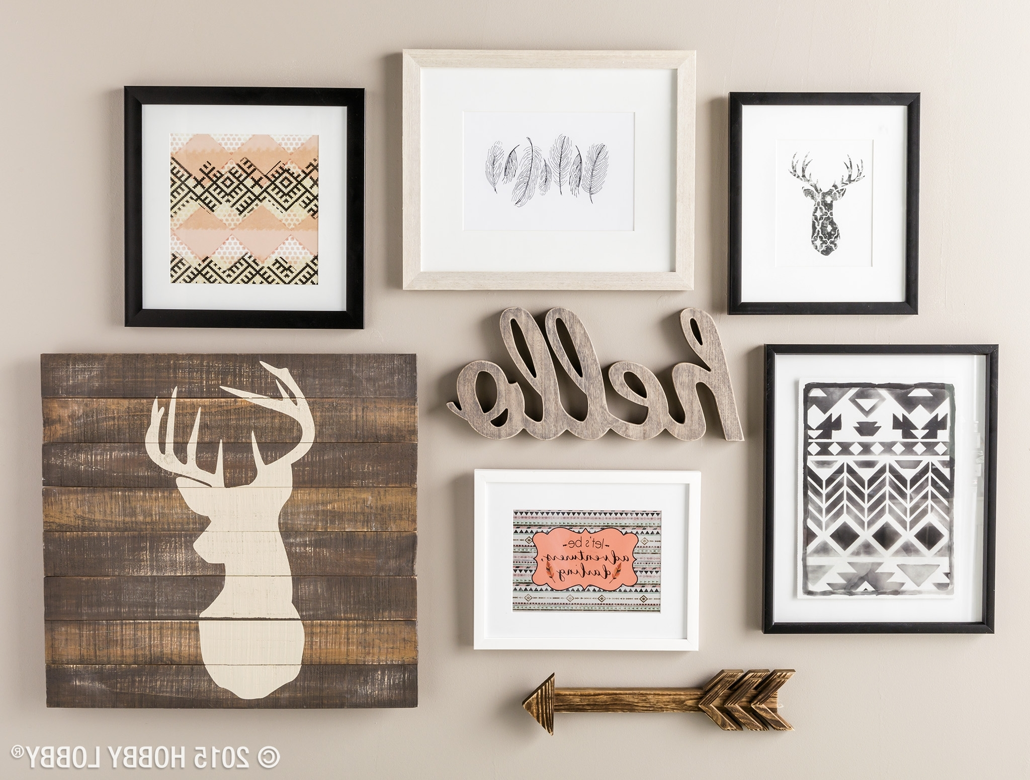 2017 Rustic Wall Accents Throughout Whether Your Style Is Kooky, Classic Or Rustic Chic, We've Got (View 1 of 15)