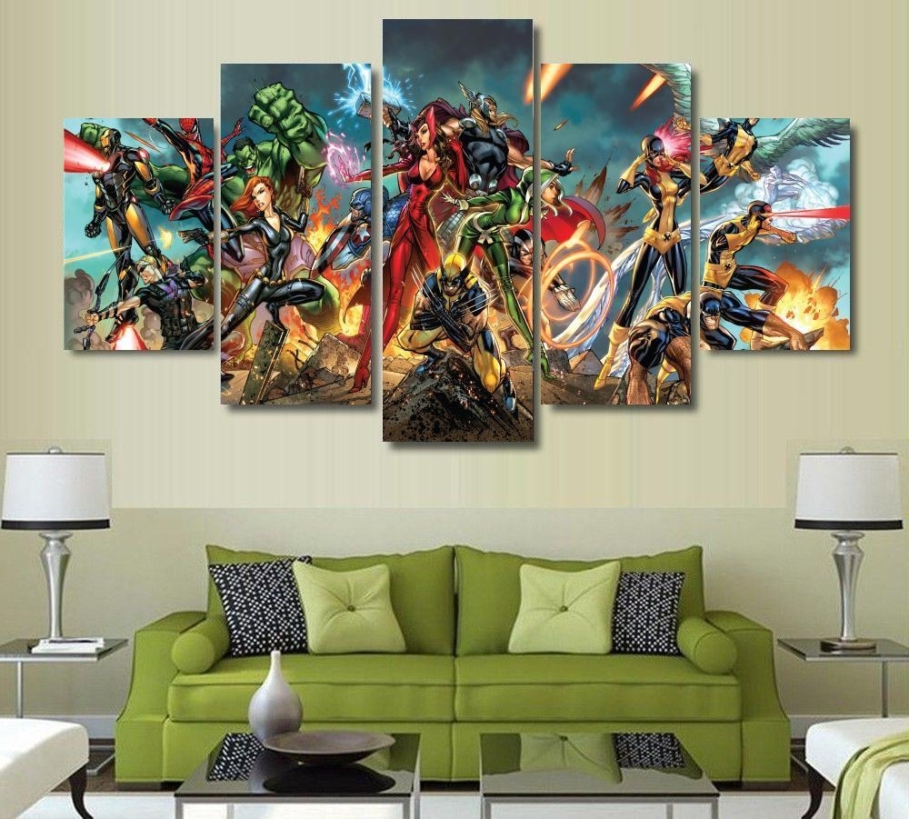 Featured Photo of Marvel Canvas Wall Art