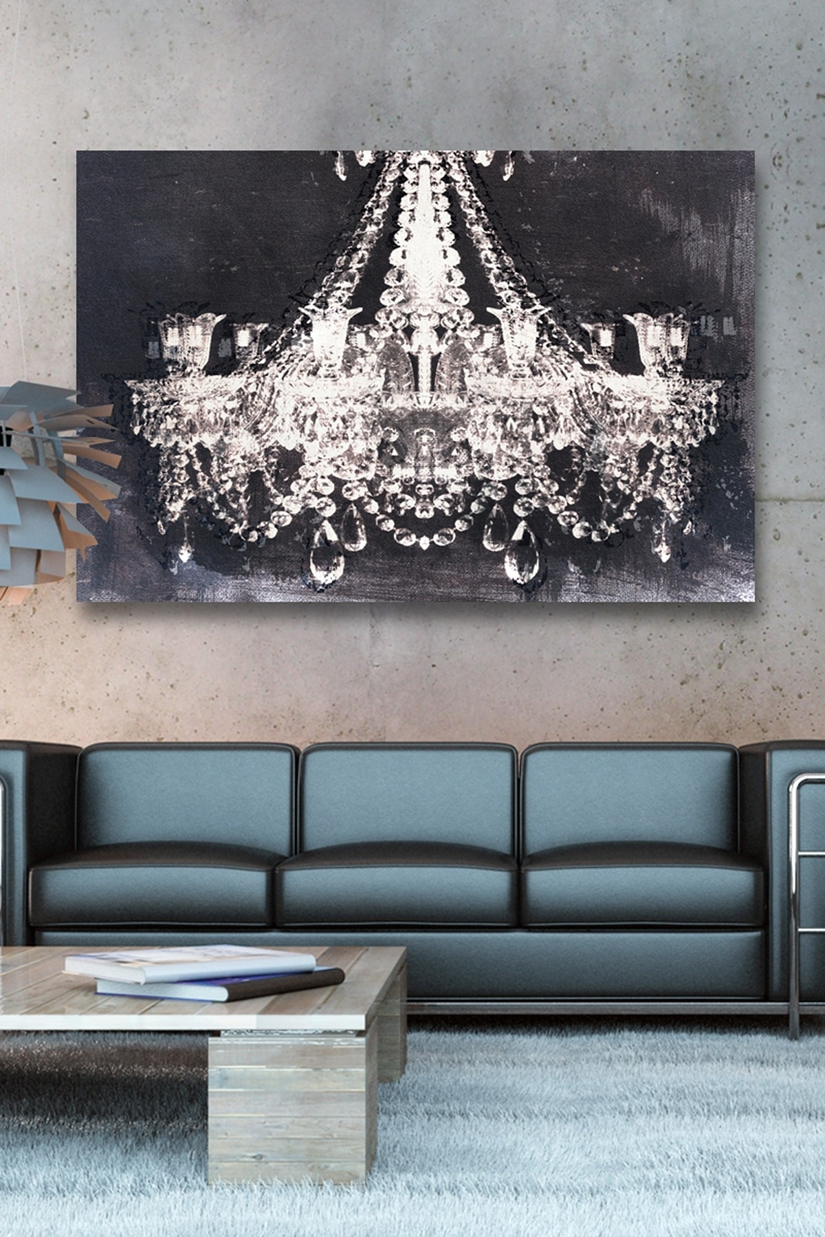 2018 Chandelier Canvas Wall Art With Oliver Gal Dramatic Entrance Night Canvas Wall Art (View 1 of 15)