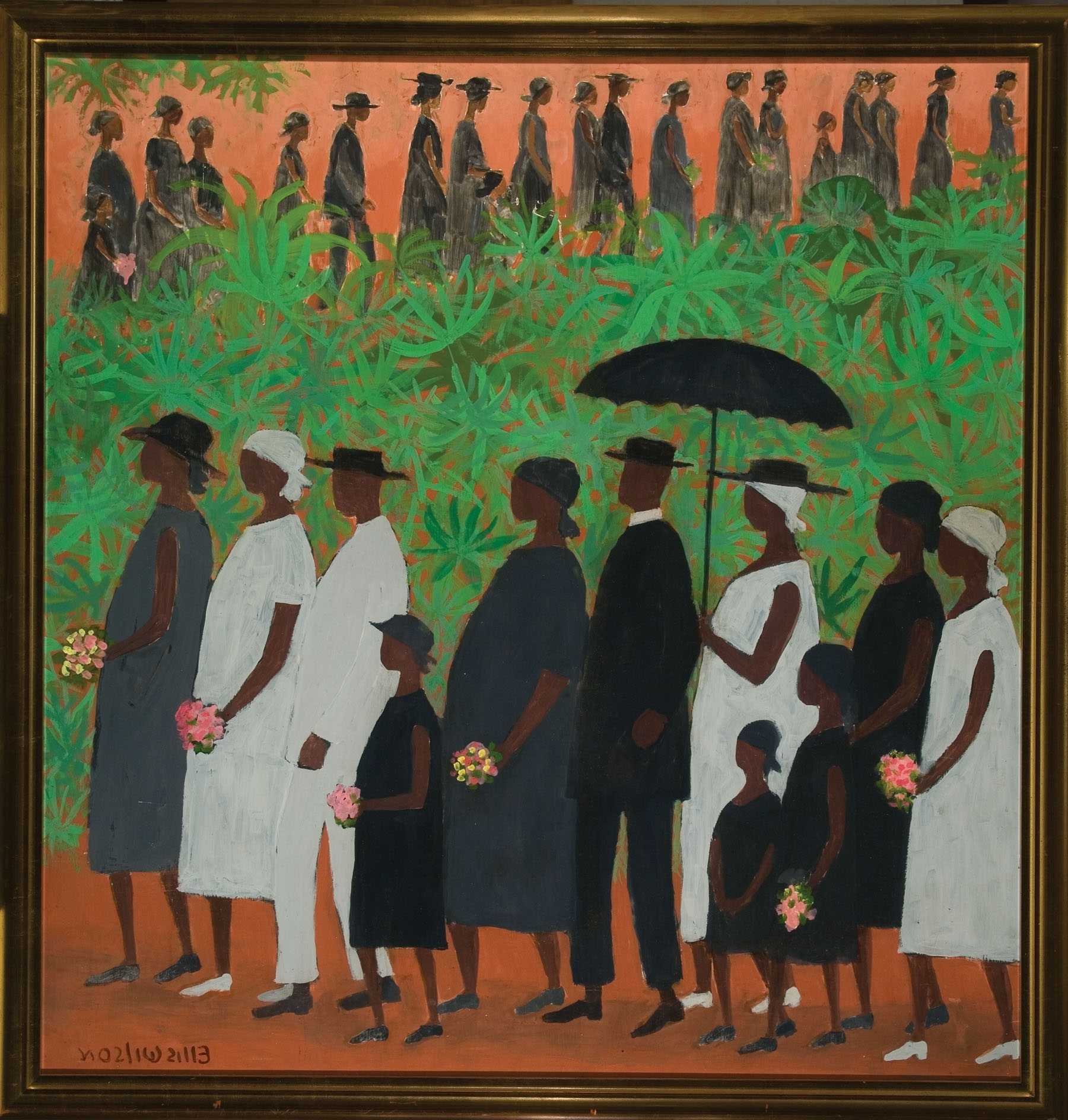 2018 Framed African American Art Prints Intended For 1954, Funeral Procession, Ellis Wilson (American 1899  (View 2 of 15)