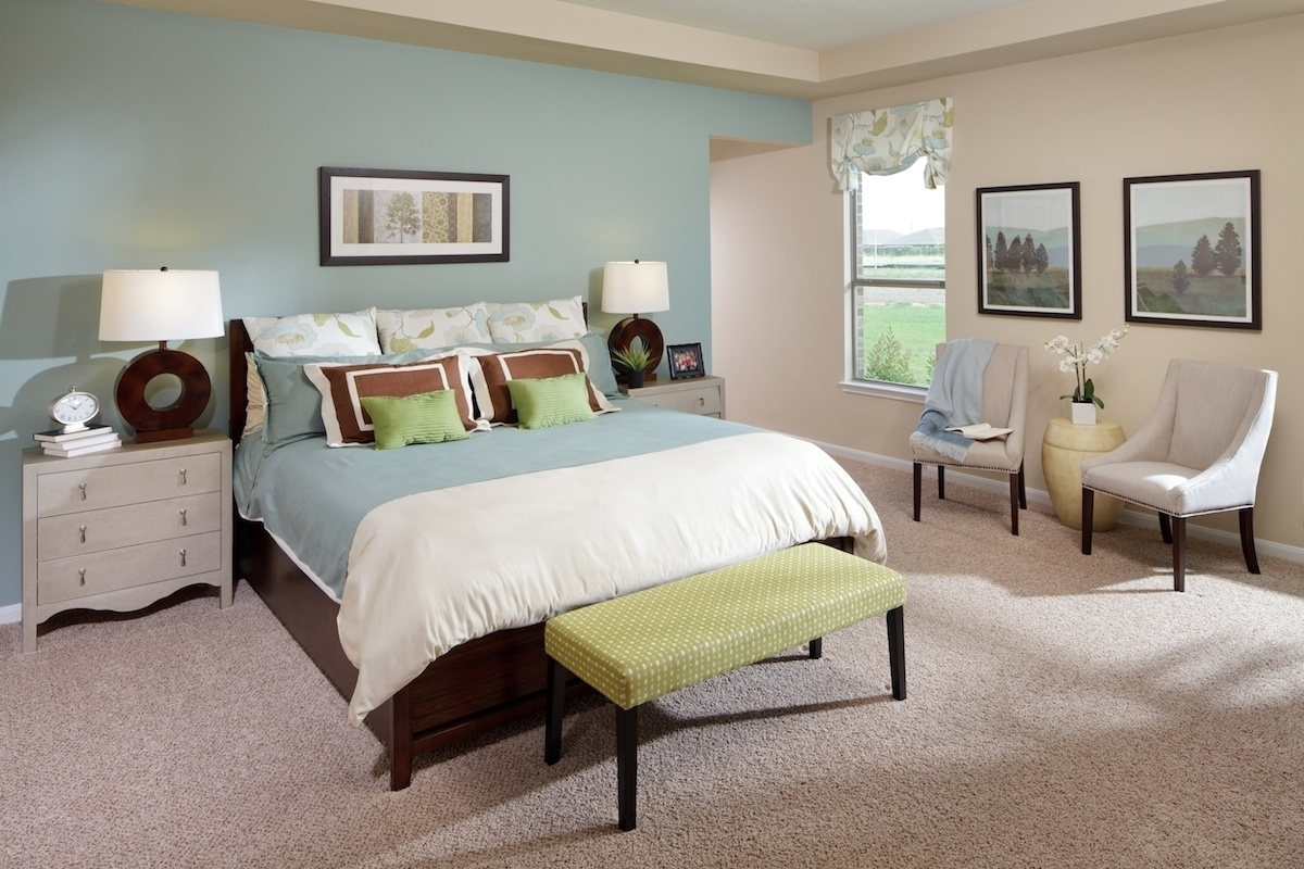 2018 Wall Accents For Beige Room Within Gray Bedroom Window Treatment Drapery French Country Bedroom (View 7 of 15)