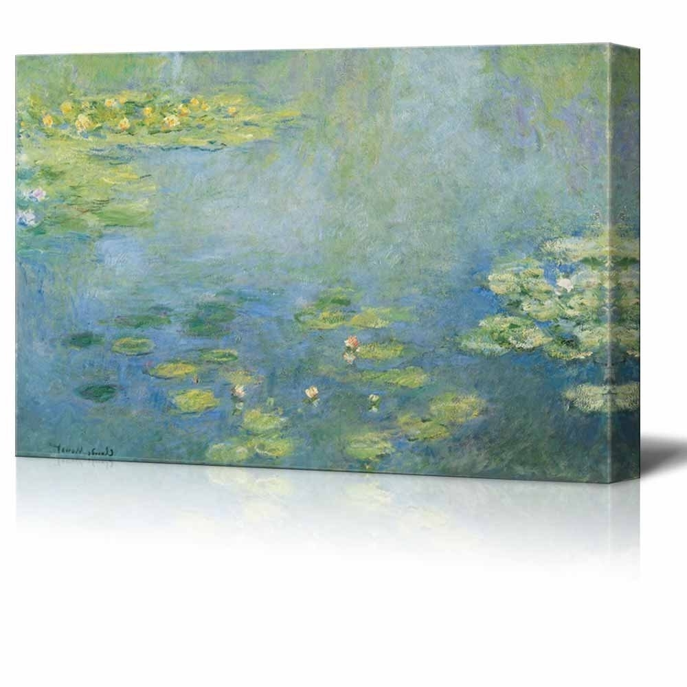 2018 Wall26 – Art Prints – Framed Art – Canvas Prints – Greeting In Monet Canvas Wall Art (View 1 of 15)