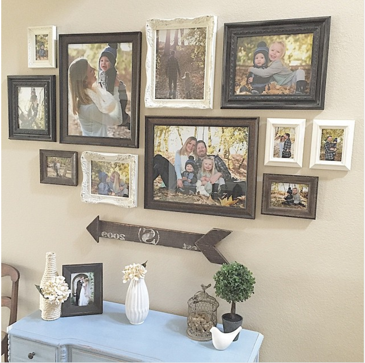 25 Must Try Rustic Wall Decor Ideas Featuring The Most Amazing For 2018 Frames Wall Accents (View 1 of 15)