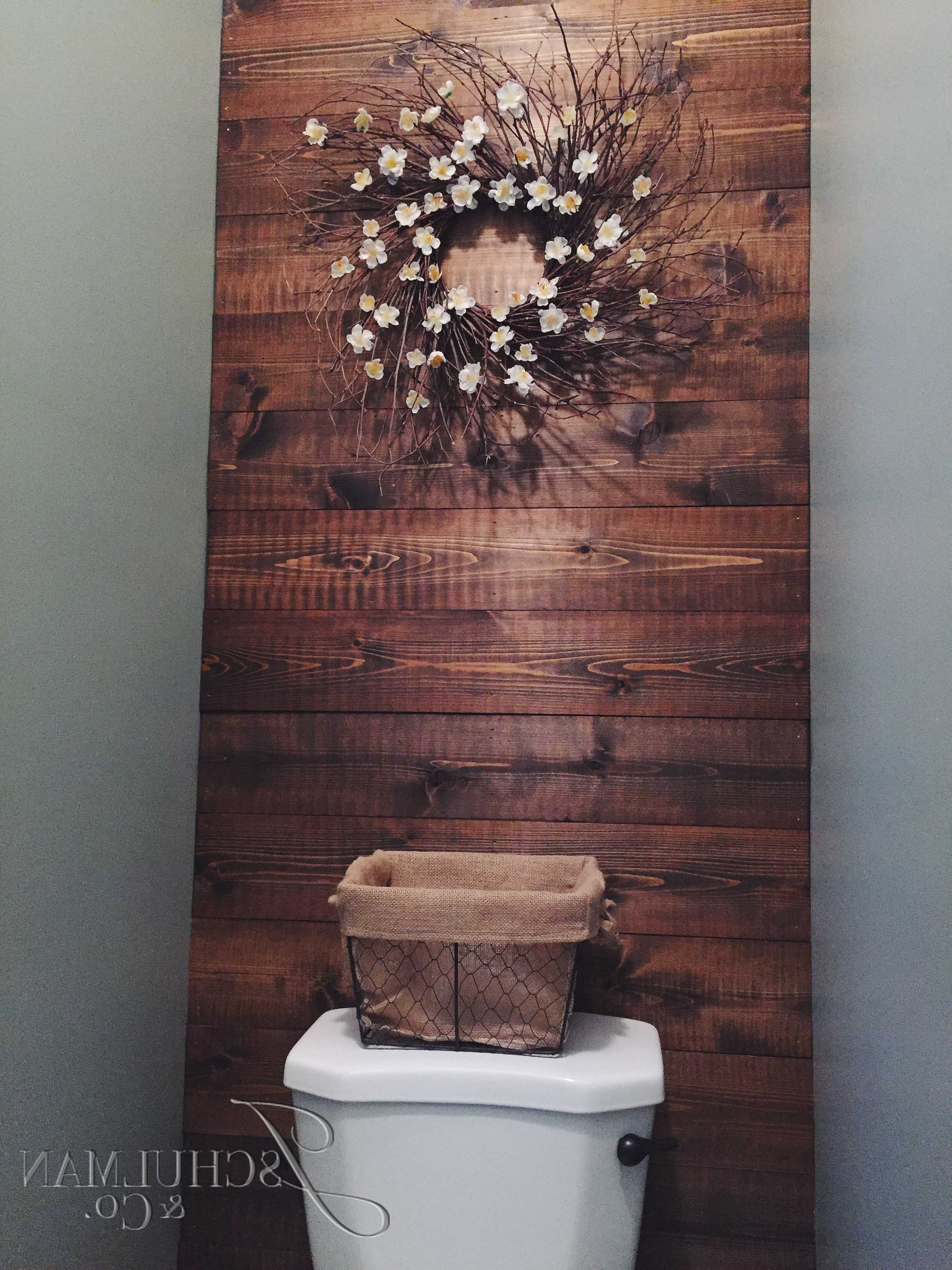 Featured Photo of Wall Accents Behind Toilet