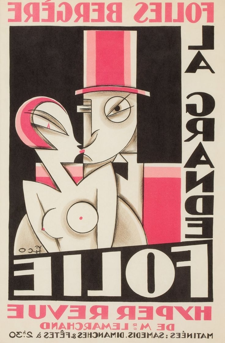 33 Best Art Deco Posters Images On Pinterest (Gallery 10 of 15)
