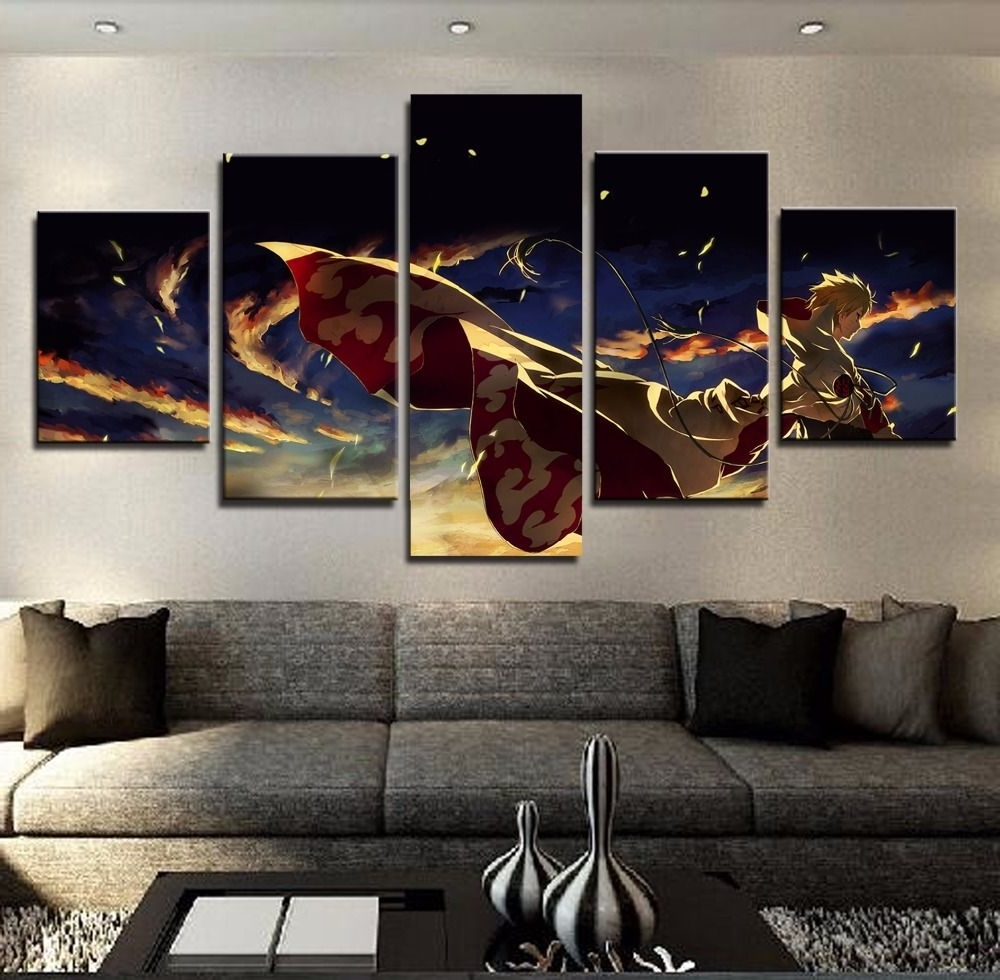 5 Panel Naruto Poster $ 11.74 And Free Shipping Tag A Friend Who Intended For Newest Johannesburg Canvas Wall Art (Gallery 12 of 15)
