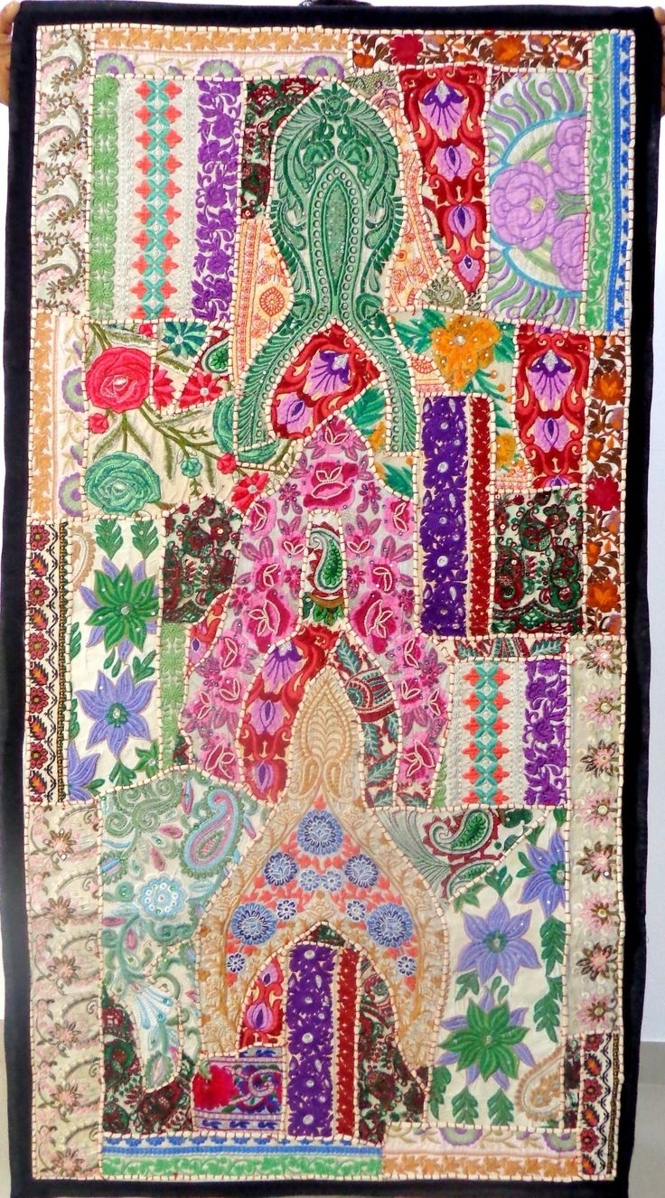 54 Best Home Decor Tapestry – Wall Hanging(Embroidered & Beaded With Latest Handmade Textile Wall Art (Gallery 14 of 15)
